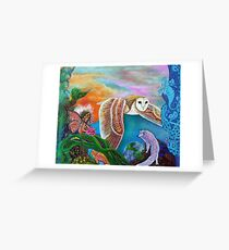 Worlds Away Greeting Card