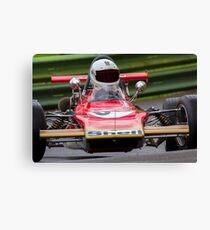Classic Lotus racing car Canvas Print