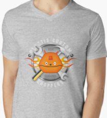 Glottis Custom Choppers Men's V-Neck T-Shirt