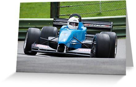 Hill climb car racing  by Martyn Franklin