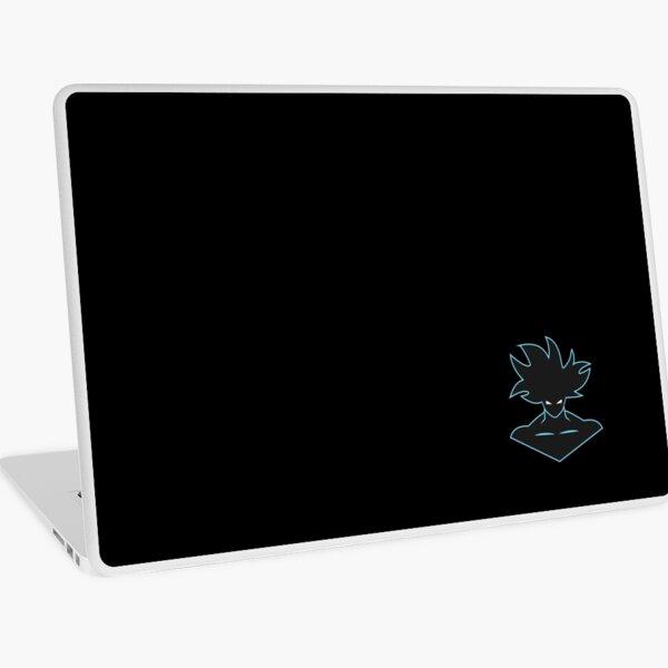Goku face illustration Laptop Skin