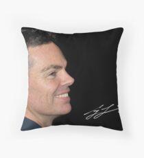 Craig Lowndes Throw Pillow