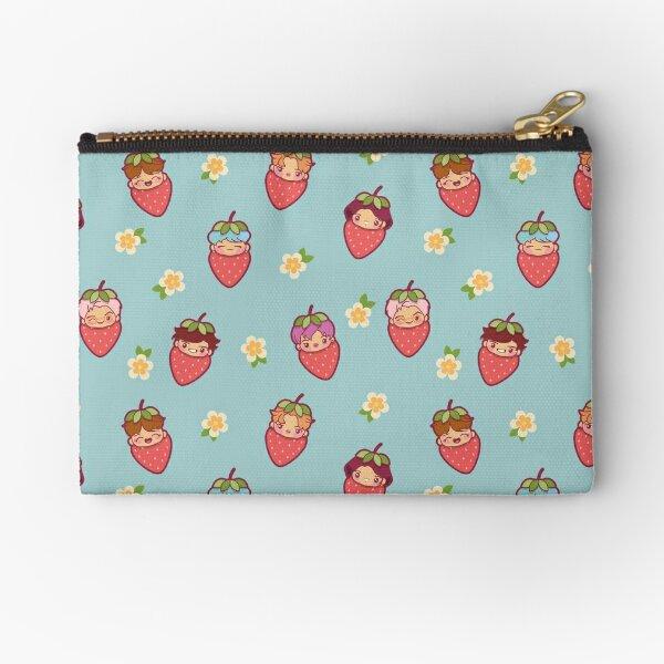BTS Strawberry Patch ~Pouches & Pillows~   Zipper Pouch