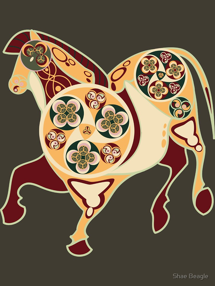 Celtic+Cave Painting: Horse by shaebeagle