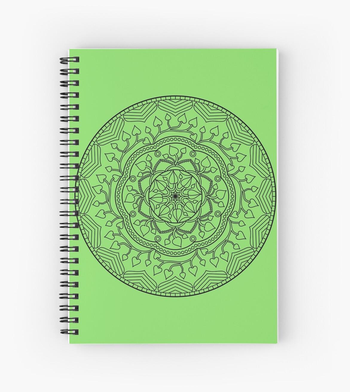 Leafy Mandala by ninthcircle