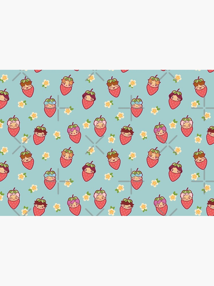 BTS Strawberry Patch ~Journals & Notebooks~   by MikaBees
