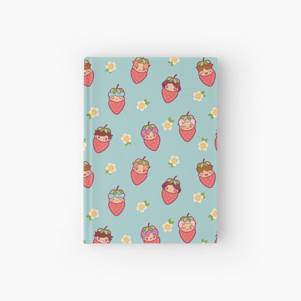 BTS Strawberry Patch ~Journals & Notebooks~   Hardcover Journal