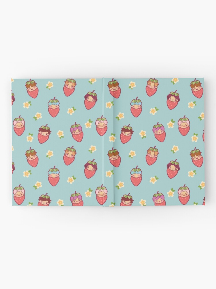 Alternate view of BTS Strawberry Patch ~Journals & Notebooks~   Hardcover Journal