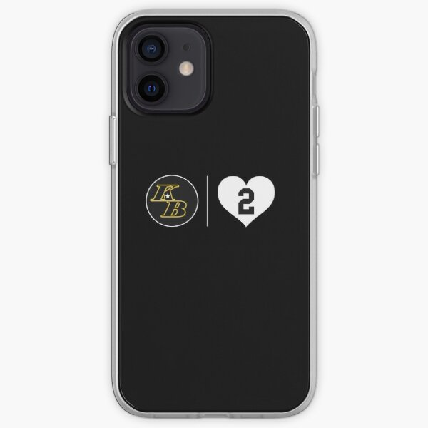 8 24 2 Kobe Bryant y Gianna Bryant Nuevos Lakers Funda blanda para iPhone