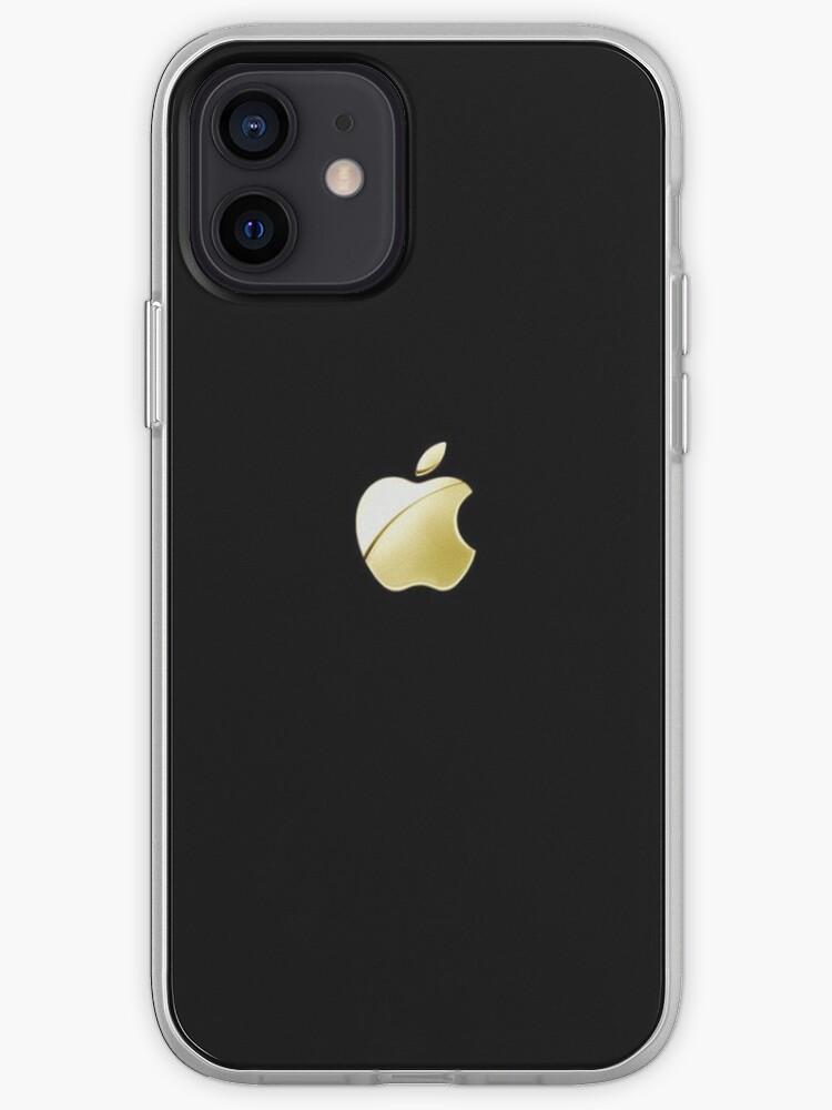 Logo Apple en or | Coque iPhone