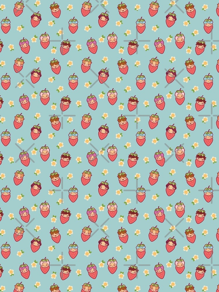 BTS Strawberry Patch ~Clothes & Accessories~   by MikaBees