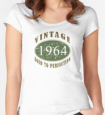 Vintage 1964, 50th Birthday T-Shirt Women's Fitted Scoop T-Shirt