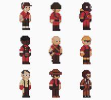 Red Team - TF2 - StarboundSprites | Unisex T-Shirt