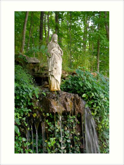Garden Christ 2 by Daniel Owens
