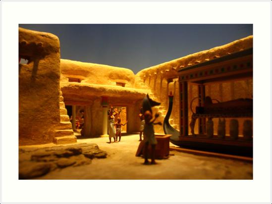Miniature Mummification 1 by Daniel Owens