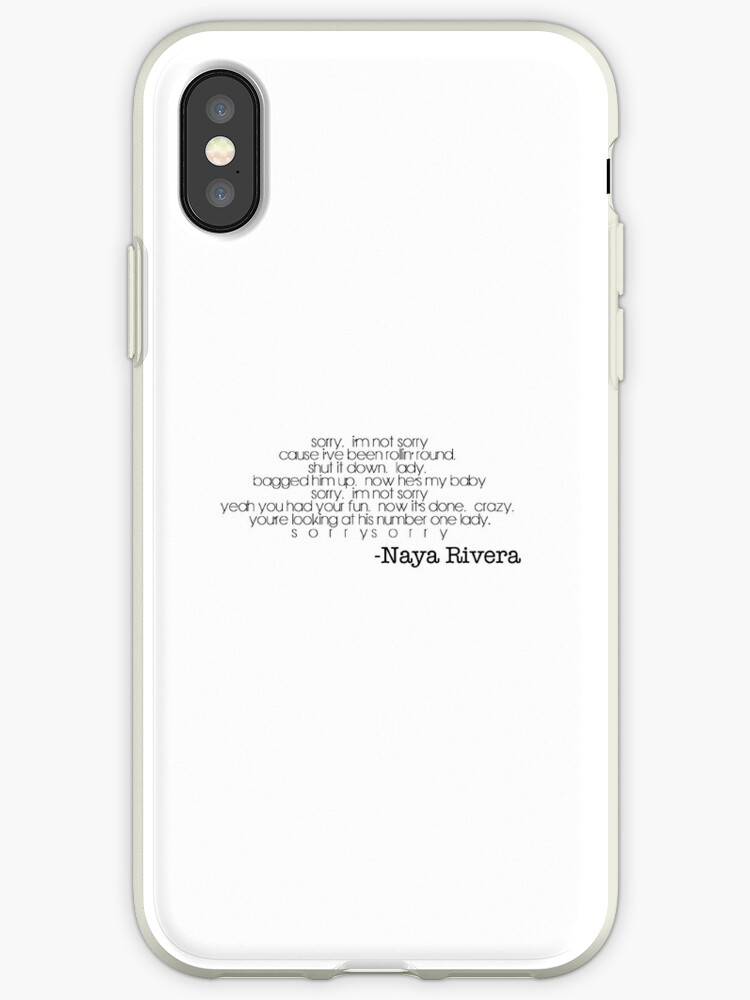 Naya Rivera-Sorry by Jboo88