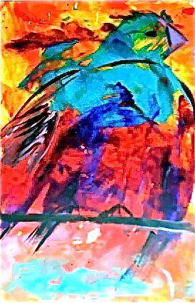 Colors in Flight  by Charlene Alvarez