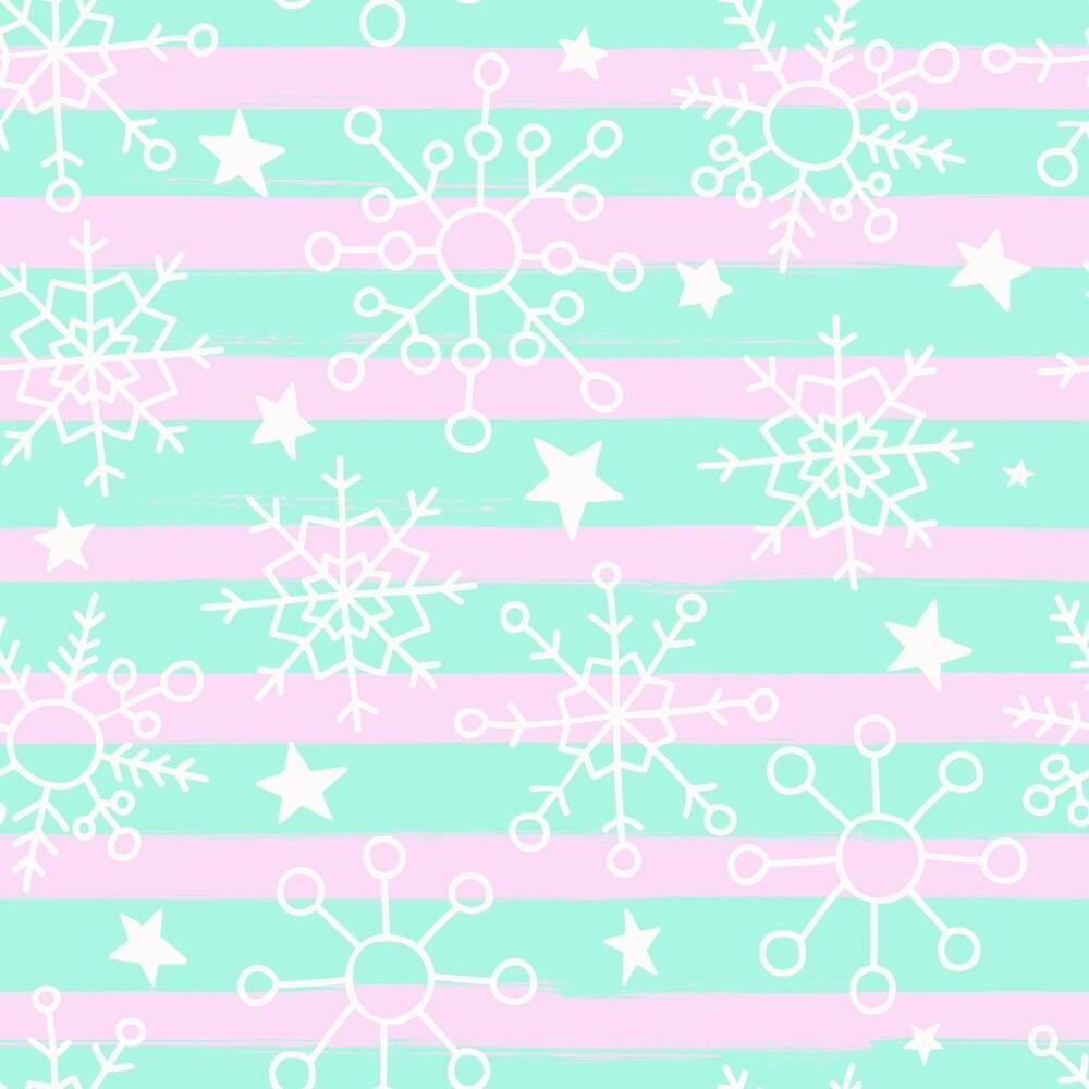 Snowflakes and Stars by fruestig