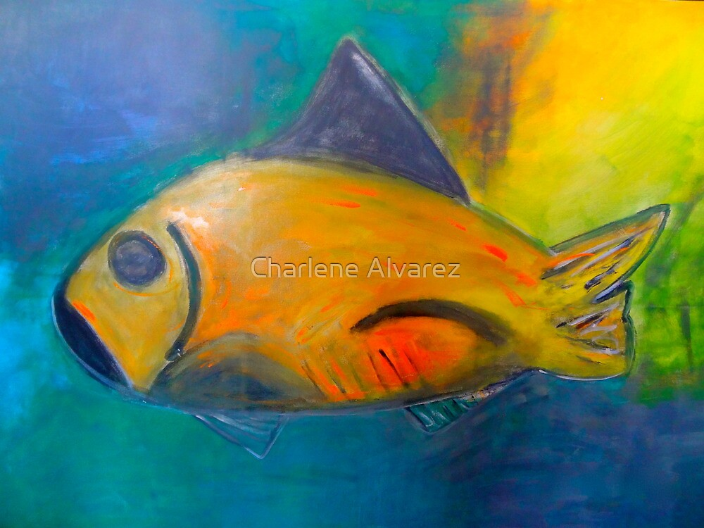 Life in the Waters of Blue  by Charlene Alvarez