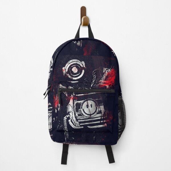 Apex legends - Pathfinder - Splatter Canvas Backpack