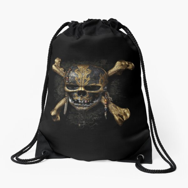 pirates of the caribbean Drawstring Bag
