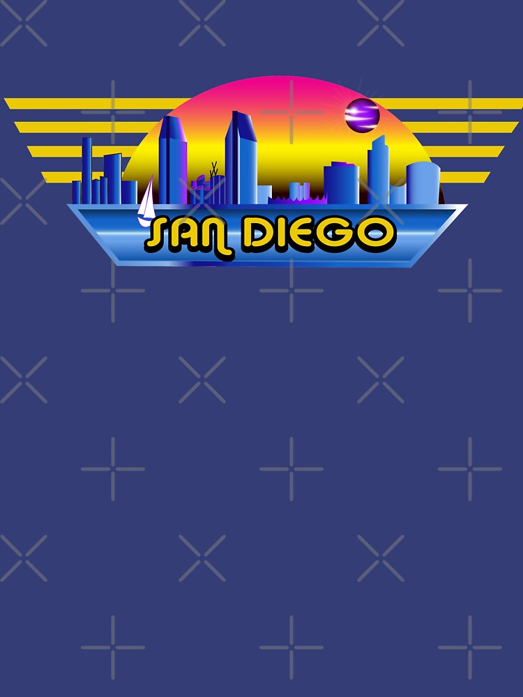 San Diego Landscape Eighties Style by xantilly