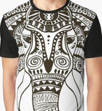 the head of an elephant Graphic T-Shirt