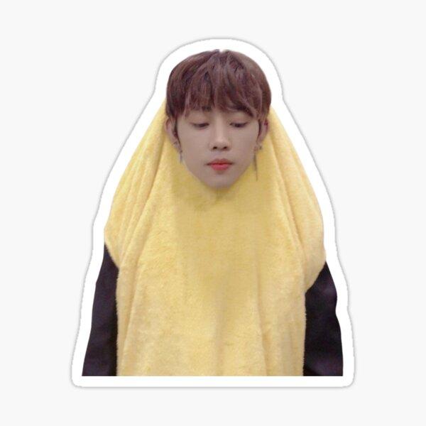 banana sunwoo Sticker