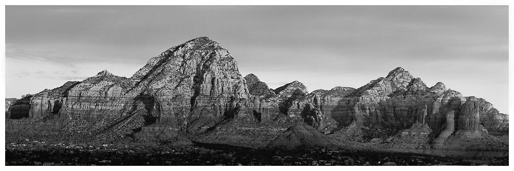 Sedona, Arizona from Airport Lookout by Edith Reynolds