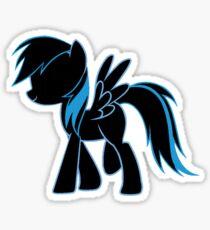 Rainbow Dash Blue Sticker