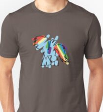 Rainbow Dash Scribble T-Shirt