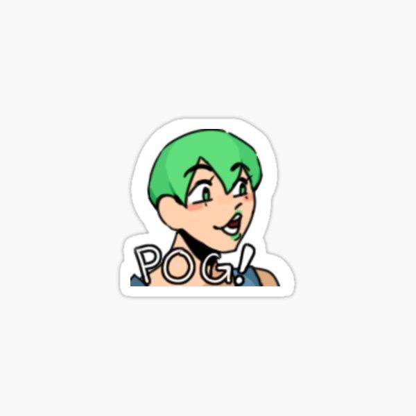 pog foo Sticker