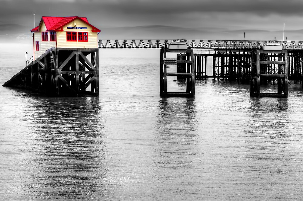 Mumbles Lifeboat by Stephen Smith