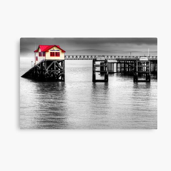 Mumbles Lifeboat Canvas Print