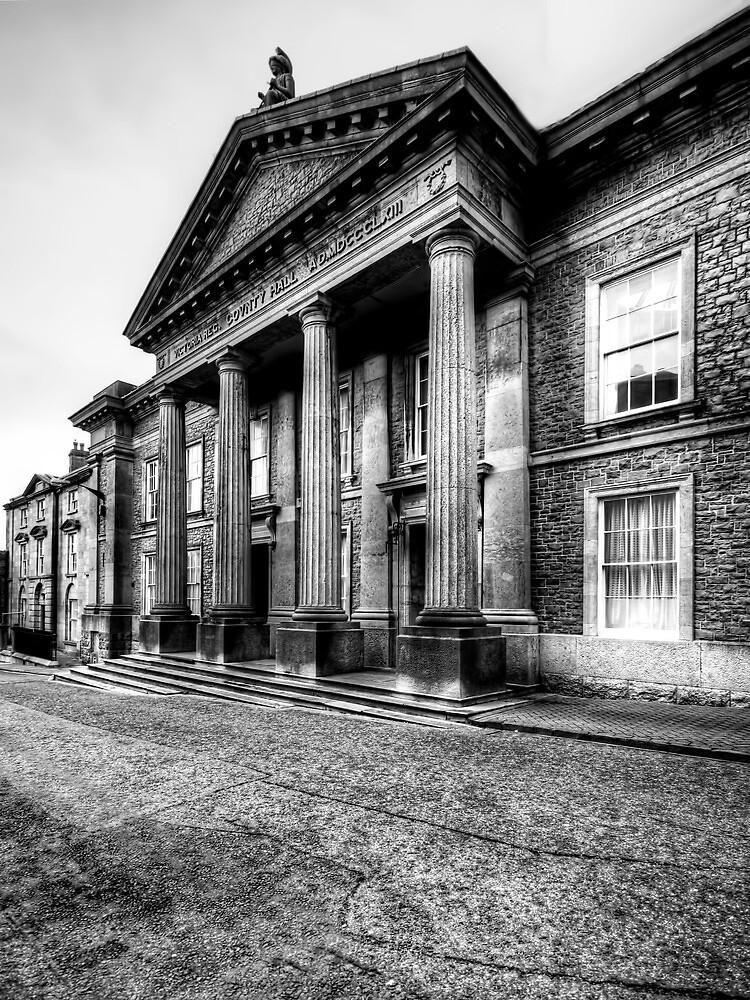 Caernarvon Town Hall by Stephen Smith