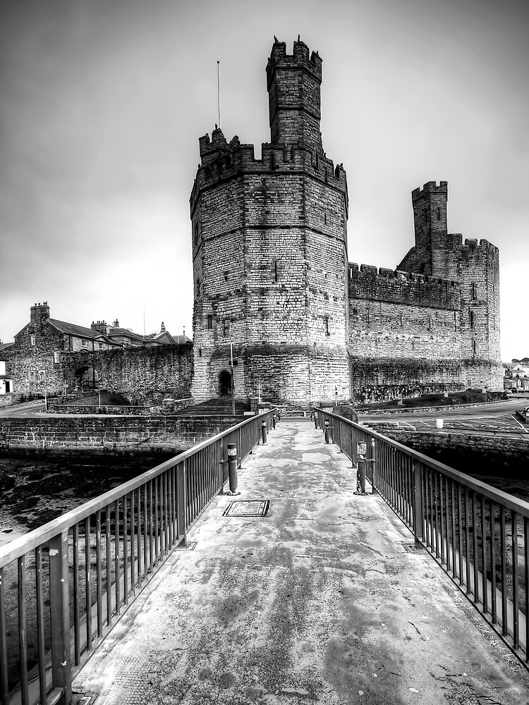 Caernarvon Castle by Stephen Smith