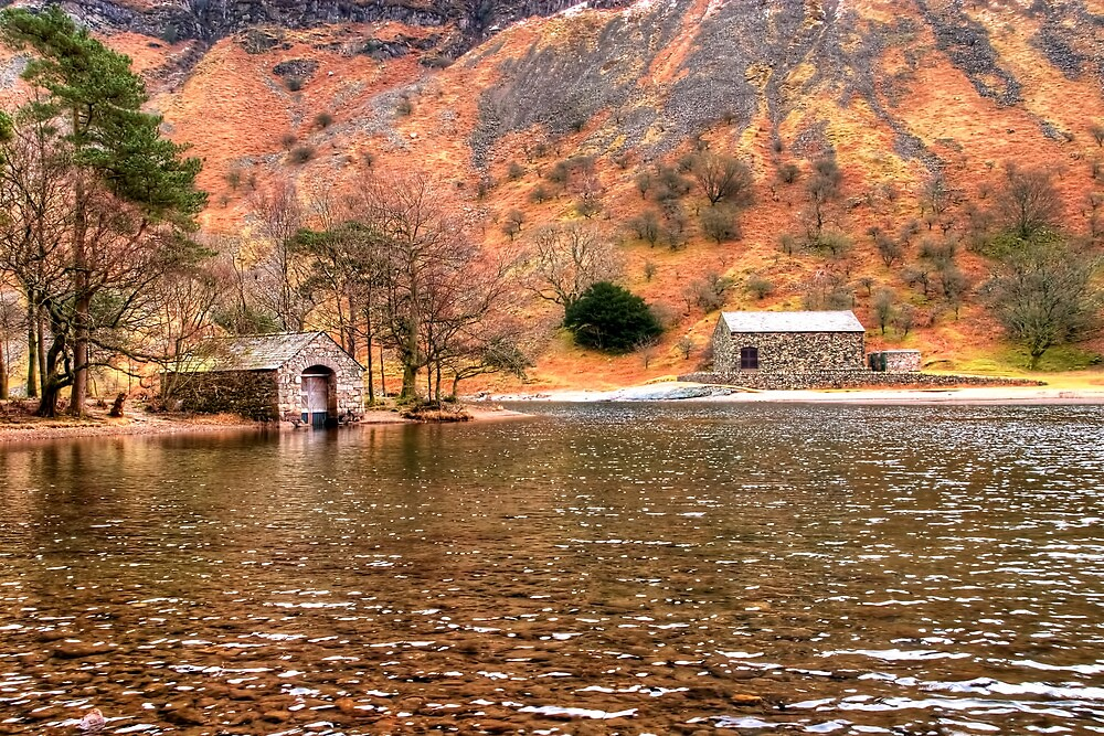 Wastwater Boathouse by Stephen Smith