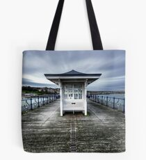 Swanage Pier, Dorset Tote Bag