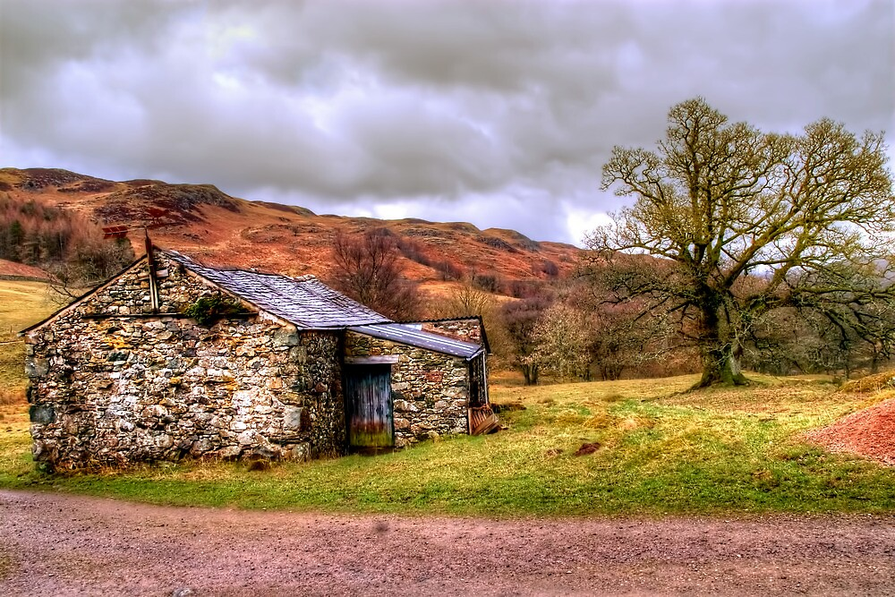 Gowbarrow Barn, Lake District by Stephen Smith
