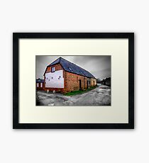 Bere Regis Cottage, Dorset Framed Print