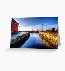 Poole Harbour, Dorset Greeting Card