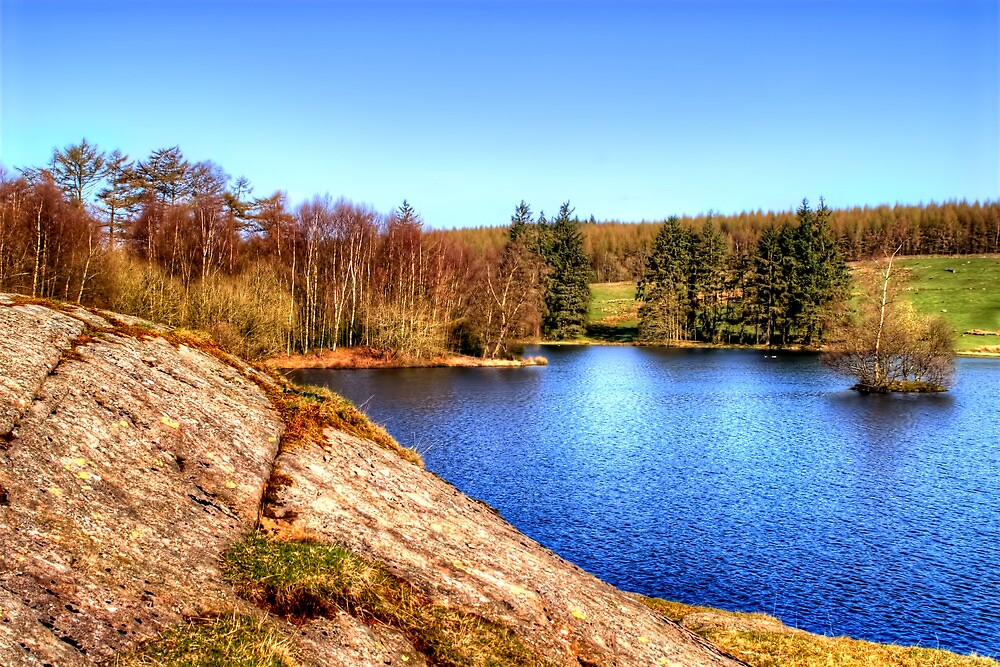 Moss Eccles Tarn, Lake District by Stephen Smith