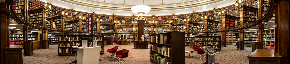 Picton Reading Room, Liverpool Central Library by Paul Madden