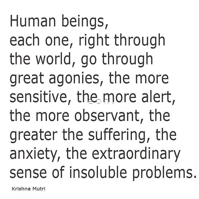 sense of being by e o n .