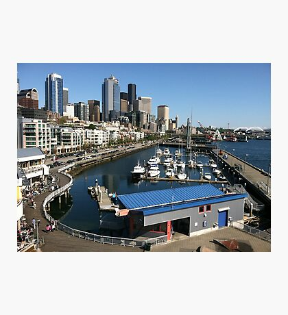 Seattle waterfront Photographic Print