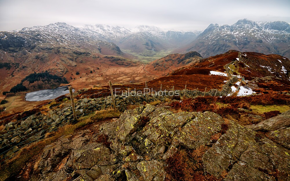 Views of Little Langdale Valley by FyldePhotos
