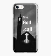 God call iPhone Case/Skin
