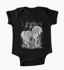 Ivory .. a white stallion Kids Clothes