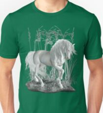 Ivory .. a white stallion Unisex T-Shirt