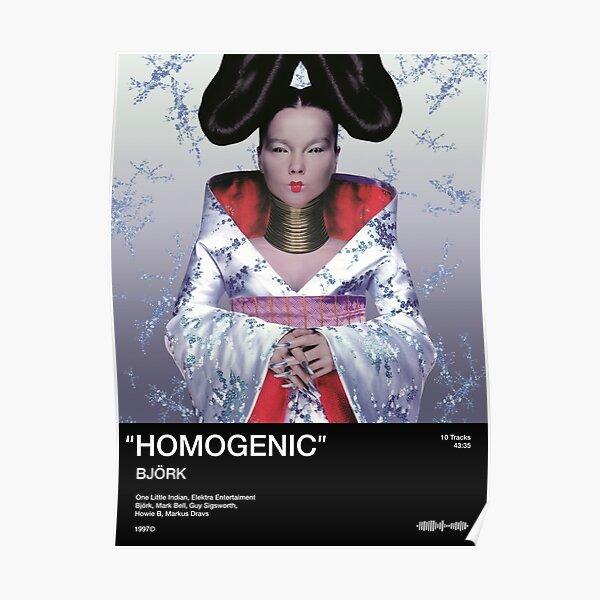 Bjork - Homogenic Poster